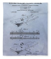 Putting Practice Patent Fleece Blanket