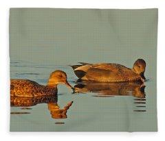 Quack Fleece Blanket