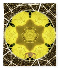 Queen Bee-nectar Of Life Fleece Blanket