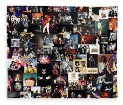 Queen Collage Fleece Blanket