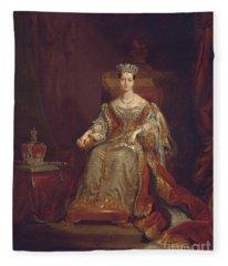 Queen Victoria Fleece Blanket