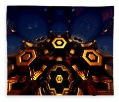 Queen's Chamber Fleece Blanket
