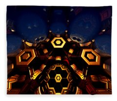 Queen's Chamber Fleece Blanket