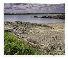 Quiet Cove Fleece Blanket