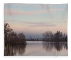 Quiet Morning Fleece Blanket
