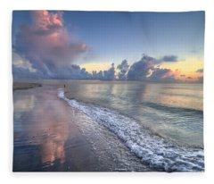 Quiet Morning Fleece Blanket