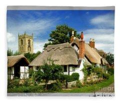 Quintessential Home Fleece Blanket