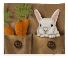 Rabbit Hole Fleece Blanket