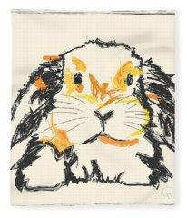 Rabbit Jon Fleece Blanket