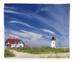 Race Point Light Fleece Blanket