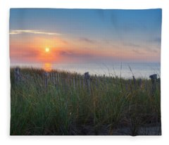 Race Point Sunset Fleece Blanket