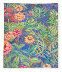 Radford Library Butterfly Garden Fleece Blanket