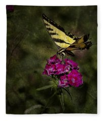 Ragged Wings Fleece Blanket