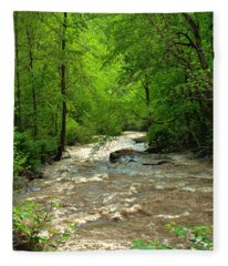 Raging Waters - West Virginia Backroad Fleece Blanket
