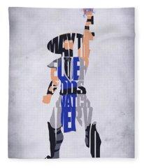 Raiden - Mortal Kombat Fleece Blanket