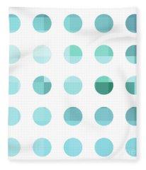 Mondrian Fleece Blankets