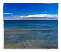 Rainbow Wave   Fleece Blanket