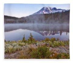 Rainier Morning Fleece Blanket