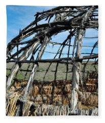 Rancho Sierra Vista Satwiwa Chumash Ap Home Fleece Blanket