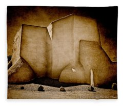 Ranchos Church Xx Fleece Blanket