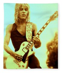 Randy Rhoads Day On The Green Unreleased One Fleece Blanket