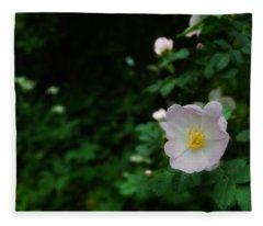 Ranunculus Fleece Blanket
