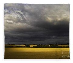 Rapefield Under Dark Sky Fleece Blanket