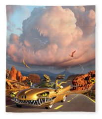 Rapt Patrol Fleece Blanket
