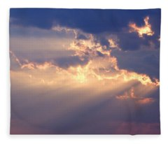 Reach For The Sky 2 Fleece Blanket
