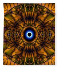Reach For The Universe Within Fleece Blanket
