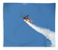 Reaching For The Moon. Oshkosh 2012 Fleece Blanket