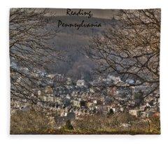 Reading Pennsylvania Fleece Blanket