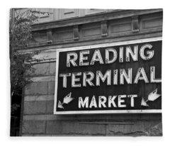 Reading Terminal Market Fleece Blanket