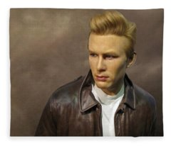 Rebel Without A Cause Fleece Blanket