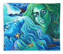 Reclaiming The Seas Fleece Blanket
