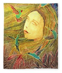 Recordando A Puerto Rico Fleece Blanket
