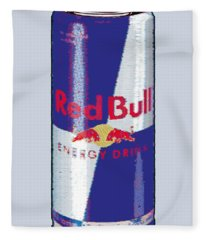 Red Bull Ode To Andy Warhol Fleece Blanket