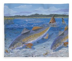 Red Creek In0010 Fleece Blanket
