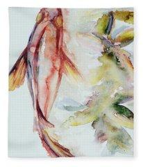 Red Mangrove Fleece Blanket