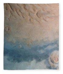 Red Planet 1 Fleece Blanket