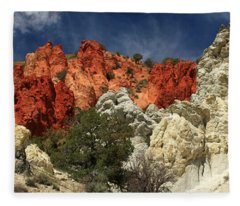 Red Rock Canyon Fleece Blanket