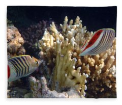 Red Sea Beauty 2 Fleece Blanket