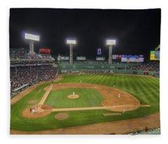 Red Sox Vs Yankees Fenway Park Fleece Blanket
