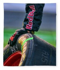 Redbull Good Year By Diana Sainz Fleece Blanket