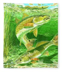 Redfish Haven In0018 Fleece Blanket