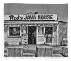 Red's Java House San Francisco By Diana Sainz Fleece Blanket