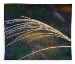 Reed Grass Fleece Blanket