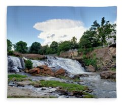 Reedy River Falls Fleece Blanket