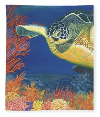 Reef Rider Fleece Blanket