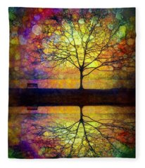 Reflected Dreams Fleece Blanket